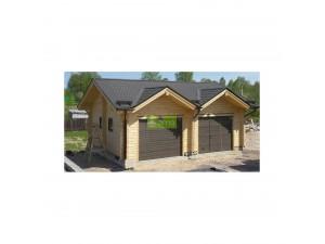 Chalet bois abris de jardin garage bois discount et en kit zima chalet - Garage bois discount ...