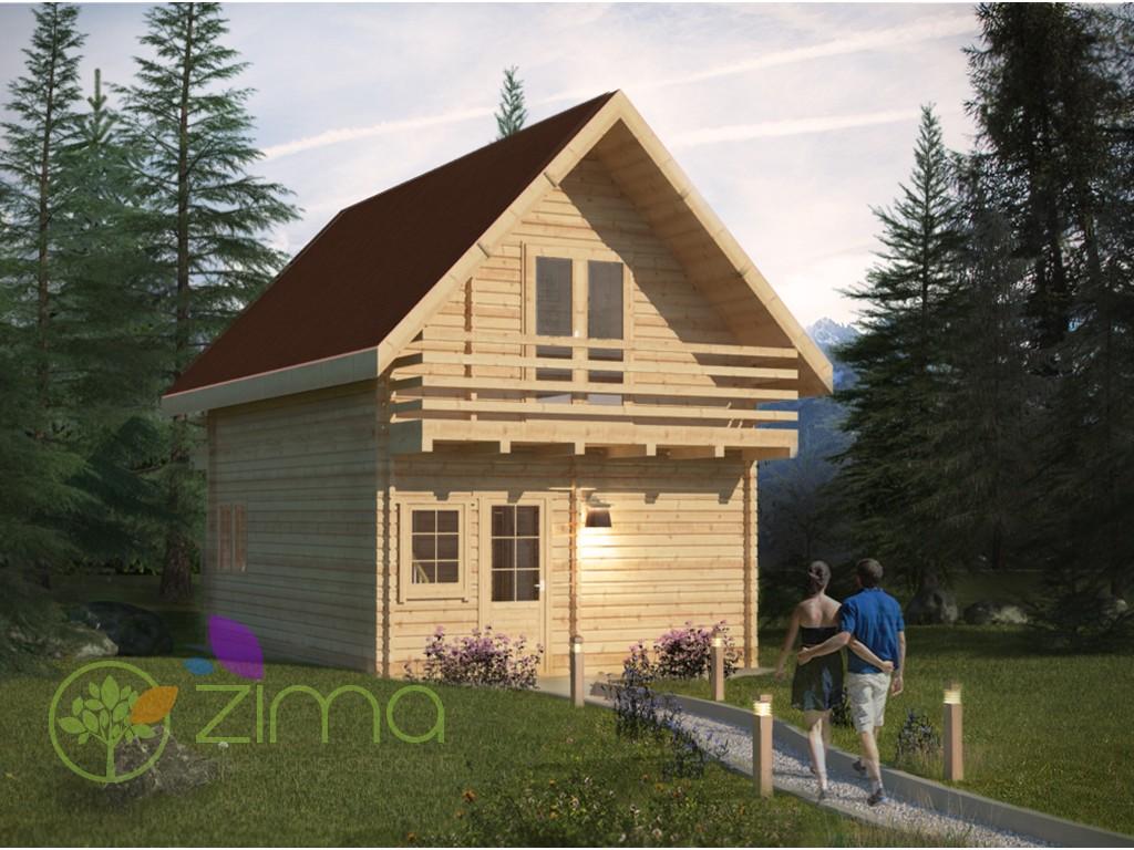 Chalet en bois habitable sans permis de construir - Abri de jardin solde ...