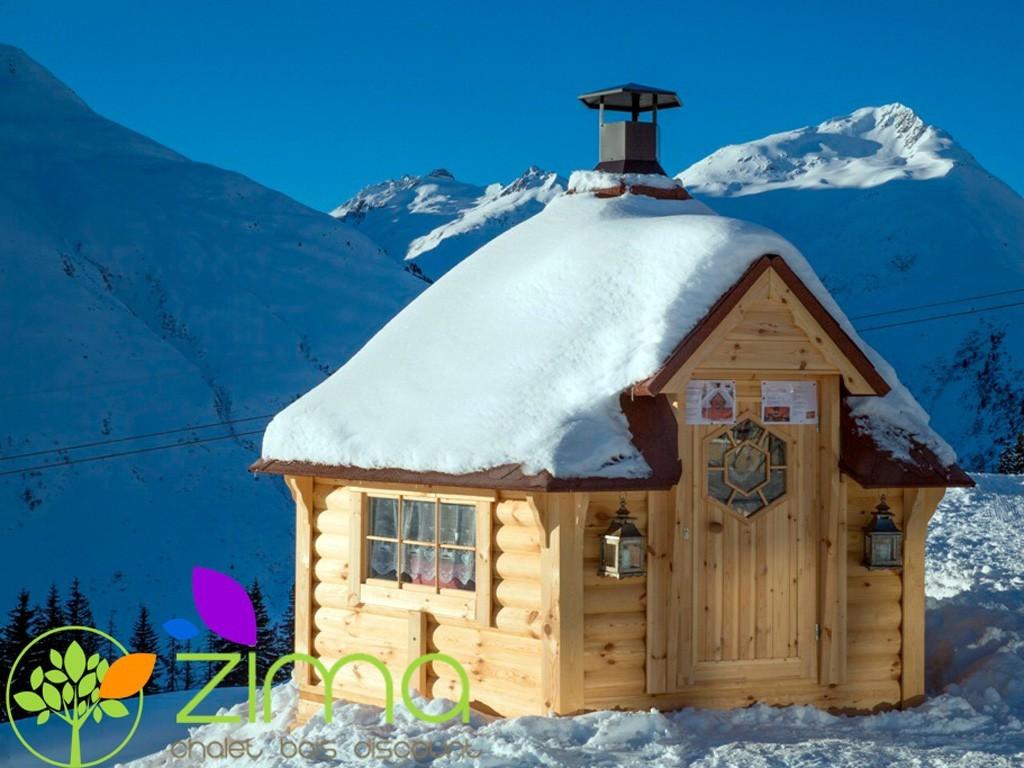 Kota grill zima chalet bois discount - Chalet bois discount ...
