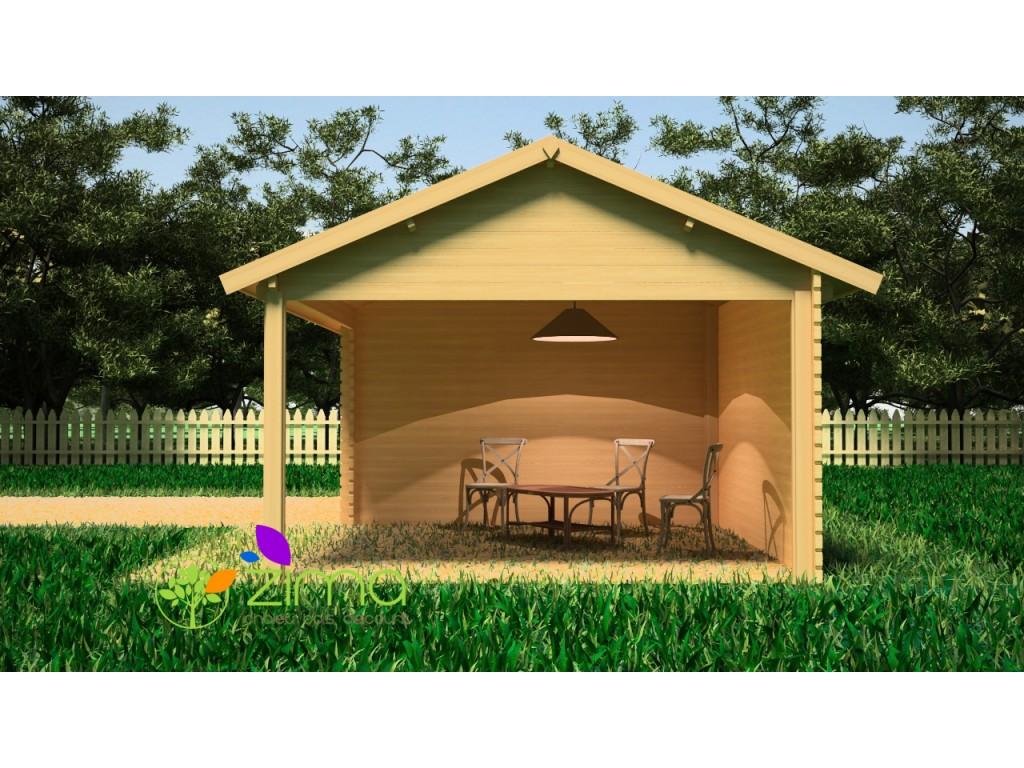 pool house en bois pool house en bois abris jardin partie ouverte et garage ferm en ossature. Black Bedroom Furniture Sets. Home Design Ideas