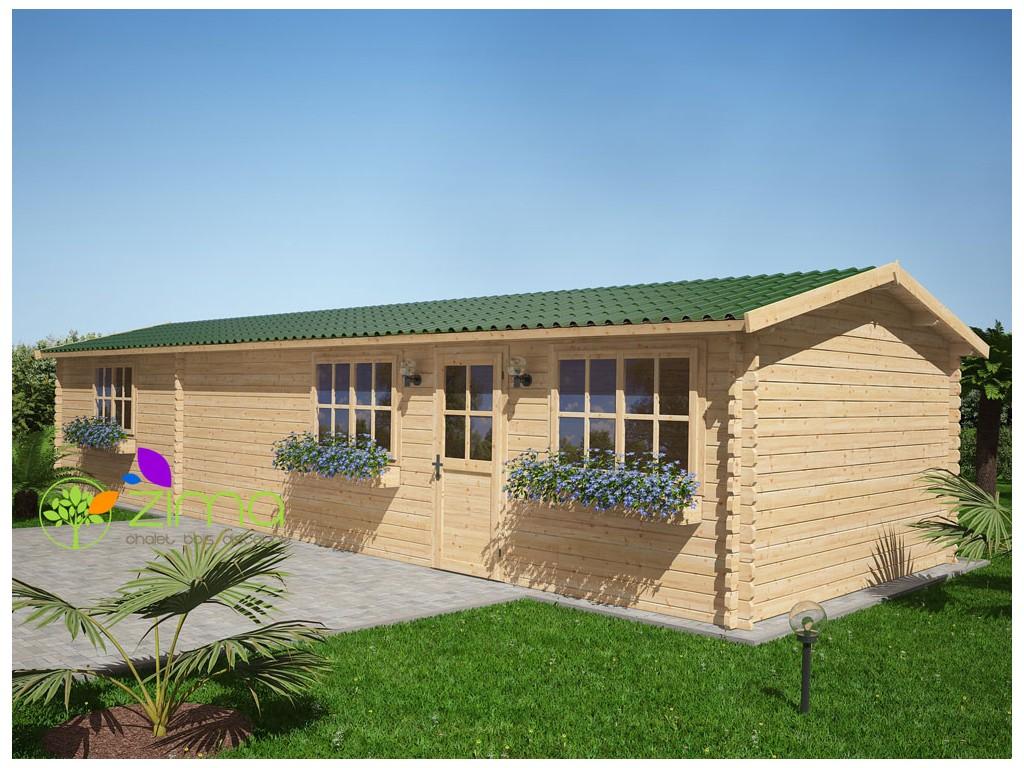Chalet bois discount maison design for Chalet bois design