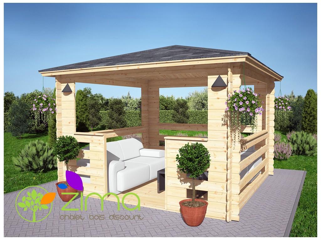 tonnelle bois castorama awesome free dco abri jardin pergola besancon dans photo galerie abri. Black Bedroom Furniture Sets. Home Design Ideas