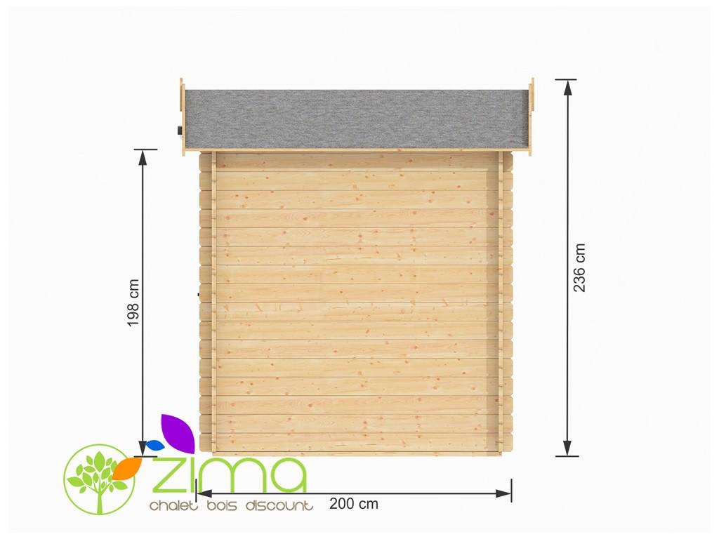 Petit abri de jardin pas cher 5m for Petit abri de jardin en bois pas cher