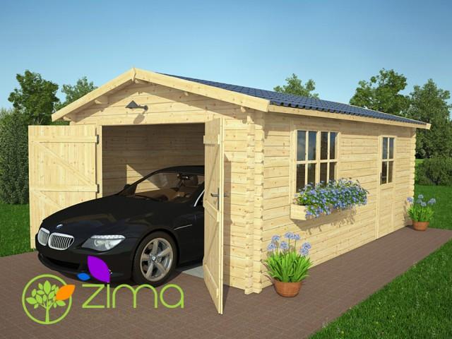 Garage en bois  24m²