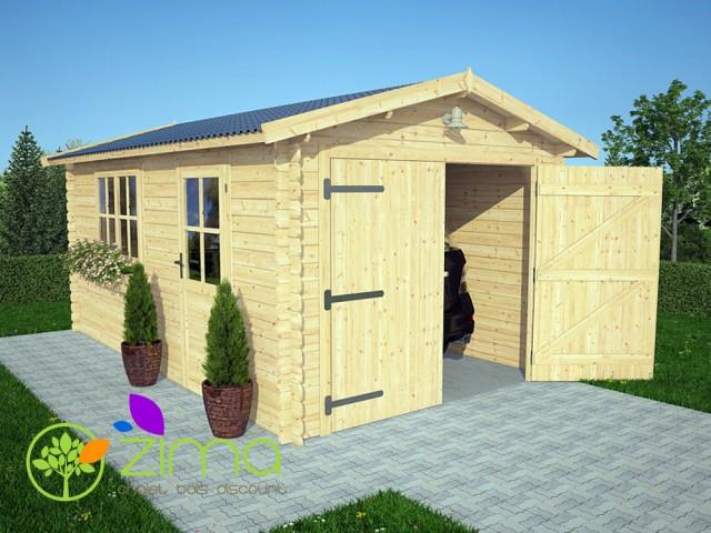 Garage en bois 320x520 16m²