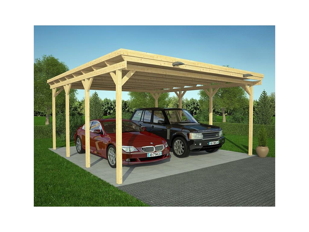 carport moderne 36m zima chalet bois discount. Black Bedroom Furniture Sets. Home Design Ideas