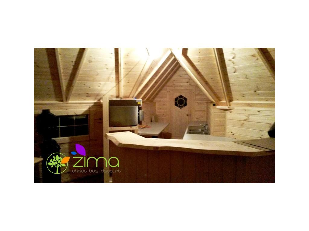 Kota grill 25m 4 5m zima chalet bois discount - Chalet bois discount ...