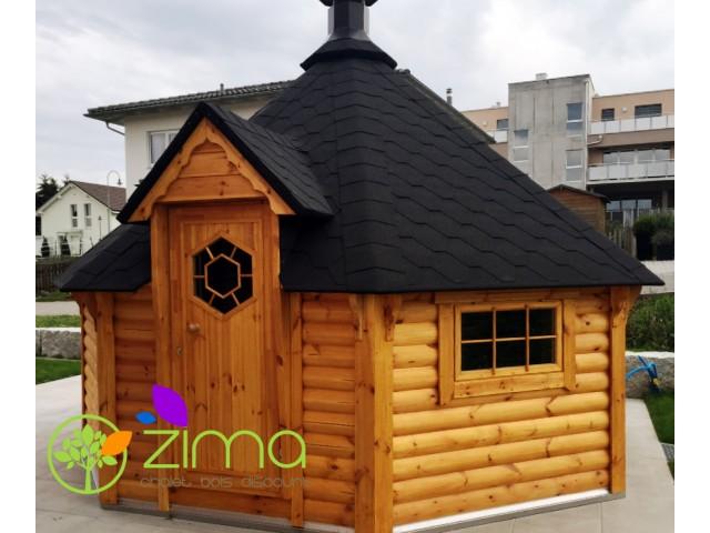 Sauna Grill 16,5 m²