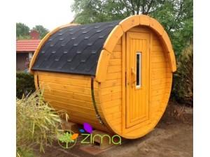 Sauna tonneau 1.7m  Ø 1.97 m
