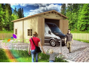 Garage camping car 400x800 45mm, 32m²