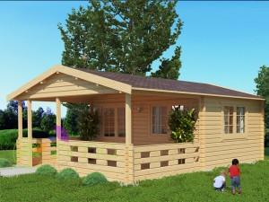 Chalet Lyon 20 m² + 15m² 45mm