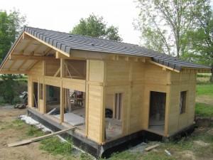 Maison SUD 81m² Poteaux Poutre Ossature
