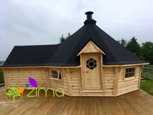 Chalet Kota Grill 16,5m² Exclusif extension