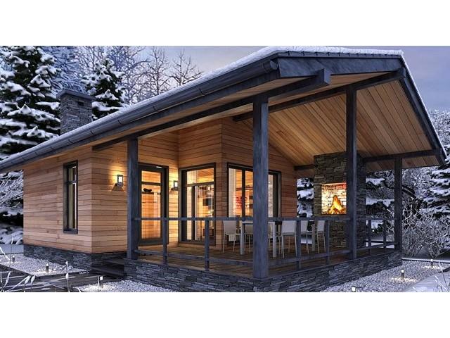 Maison Bois Grenoble 100 M2 En Poteaux Poutres Zima Chalet Bois Discount