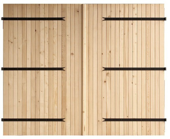 garage en bois m zima chalet bois discount. Black Bedroom Furniture Sets. Home Design Ideas